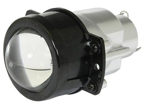 RAIDER UNIVERSAL FAIRING HEADLIGHT BLACK 12V 35/35W 12V 5W PARK LIGHT