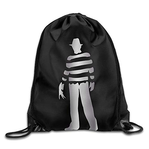 HLKPE Outdoor Freddy Krueger Platinum Style Drawstring Backpack