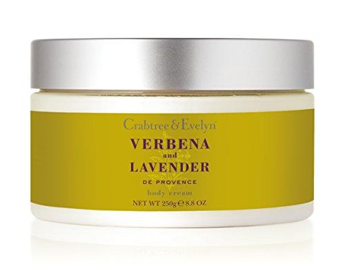 Crabtree & Evelyn Verbena und Lavender de Provence body cream, 1er Pack (1 x 250 g)