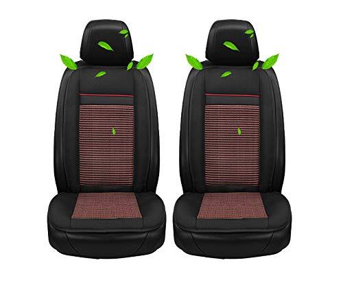 Kontinuierliche Belüftung (HSGZIS Sitzauflage Für Autositz, 8 Große Ventilatoren + Taillenmassage, Schnelle Kühlung, Angenehme Kontinuierliche Kühlung, Anschluss Für 12V/24V Zigarettenanzünder,Brown-12V-Twoseat)