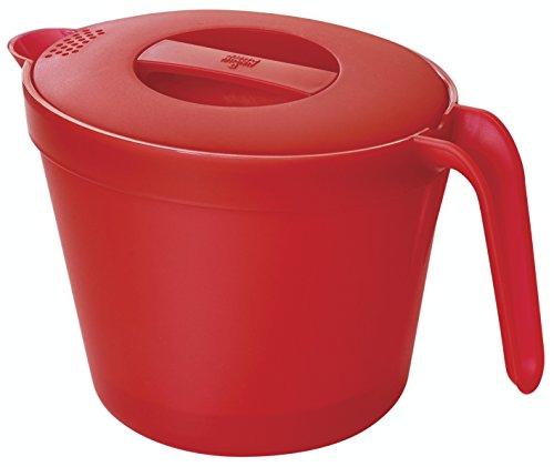 Kuhn Rikon - jarra, rojo, 23cm, grande, apta microondas
