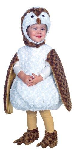 Kostüm Owl White - Kost-me f-r alle Gelegenheiten UR26077TMD White Barn Owl Kleinkind 18-24
