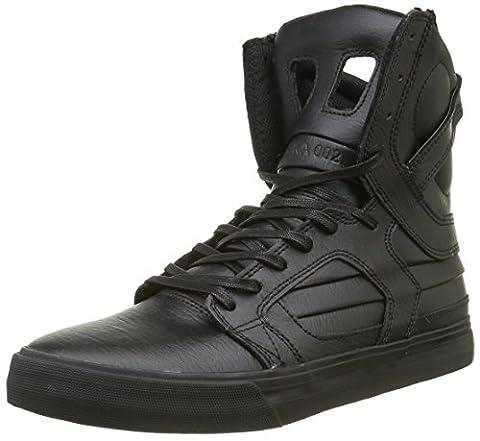 Supra SKYTOP II, Men's Low-Top Sneakers, Schwarz (BLACK / BLACK