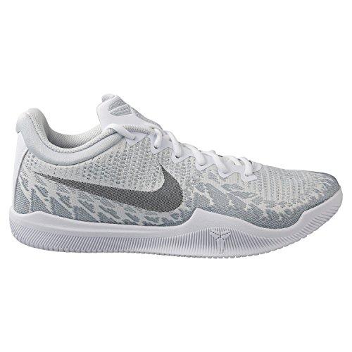 Nike Herren Mamba Rage Weiß Textil/Synthetik Sneaker 42,5