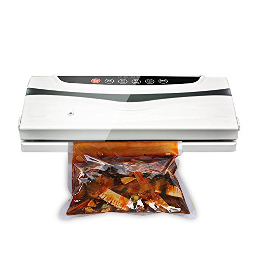 Vacuum Sealer, Fresh Fruit and Vegetable Packaging Meat Preservation Machine Multi-functional Automatic Intelligent Vacuum Packaging Machine Vacuum Compressor Household Small Heat Sealing Machine