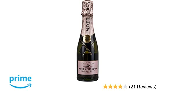 cc21eba40a8 Moet   Chandon Rose Imperial Champagne 20cl Bottle  Amazon.co.uk  Grocery