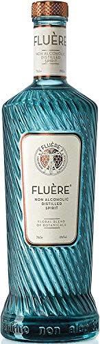 FLUÈRE - Gin analcolico, distillato floreale analcolico, 700 ml