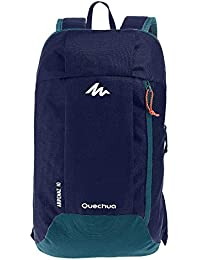 Quechua Kids Outdoor Travel Backpack For Hiking Camping Rucksack 10L (Navy Blue)