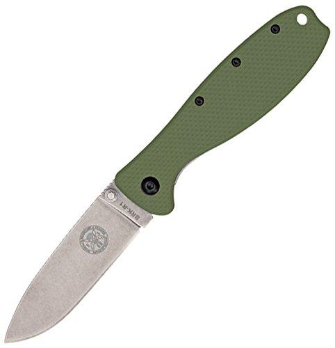 Esee BRK Designed by Brkr1Od Cuchillo,Unisex - Adultos, Verde, un tamaño