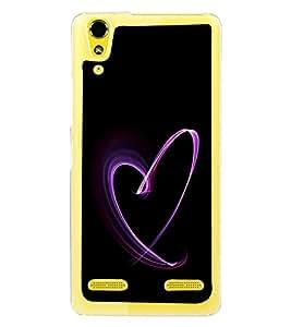 PrintVisa Digital Heart High Gloss Designer Back Case Cover for Lenovo A6000 Plus :: Lenovo A6000+ :: Lenovo A6000