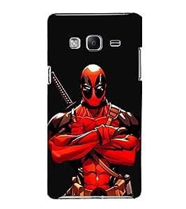 EPICCASE Deadpool terror Mobile Back Case Cover For Samsung Tizen Z3 (Designer Case)