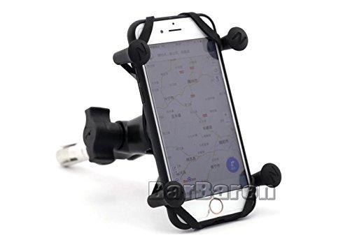 Marco de navegación GPS de la motocicleta Soporte de navegación del teléfono...