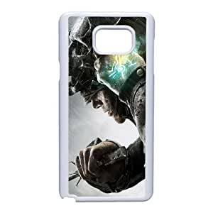 Samsung Galaxy Note 5 phone case White Dishonored AWWD6329933