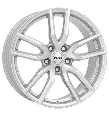 Preisvergleich Produktbild Rial Torino 8x18 ET45 5x108 polar-silber