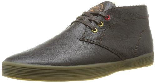 Base London  Rod 2012,  Sneaker uomo, Marrone (Brown Grain), 45