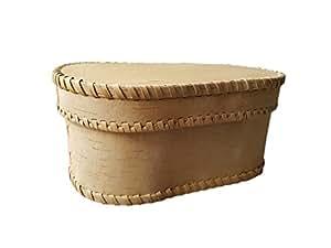 Brotdose / Brotkasten Birkenrinde 28x13cm Handgefertigt, hochwertiges Material!