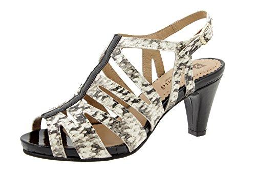 Scarpe donna comfort pelle Piesanto 6259 sandali di sera comfort larghezza speciale