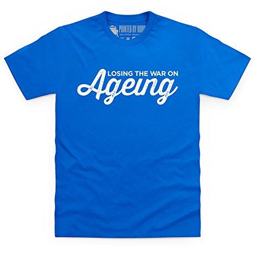 The War on Ageing T-Shirt, Herren Royalblau