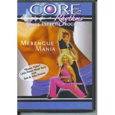 Preisvergleich Produktbild Core Rhythms Dance Exercise Program DVD: Merengue Mania!