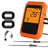 Yongse Loskii KC-520 Six Channel Professional Edition Bluetooth Barbecue Thermometer Digital Oven Thermome