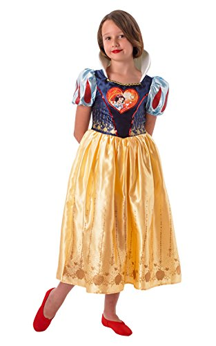 Rubie's Offizielles Loveheart Schneewittchen-Kostüm für Kinder,9 - -