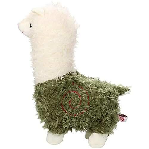 munecos dia madre kawaii Mamum bonitos peluches de alpaca, alpaca adorable del kawaii arpakasso muñeca suave del juguete de peluche de felpa un tamaño verde