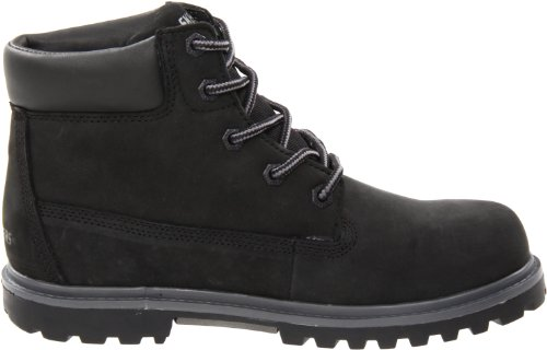 Skechers Mecca Lumberjack, Boots garçon Noir (Blk)