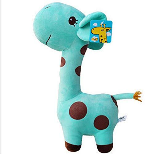 tiere 1 STÜCKE 18 cm Nettes Baby Spielzeug Regenbogen Puppen Für Kinder Geschenke Nettes Plüsch Weiches Tier Kinder Geburtstag Faser gefüllt Hellblau 18 cm ()