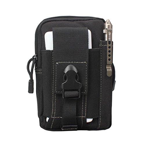 Bylove Outdoor Reisen Sport Taktische Tasche Bauchtasche, Mode Multifunktional Handytasche für Camping Wandern Outdoor (Samsung Galaxy S4 Mini Power Pack)