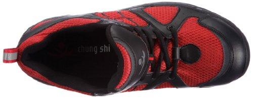 Chung Shi Comfort Step Tokyo 9102335 Herren Sportschuhe Rot (Rot/Schwarz)