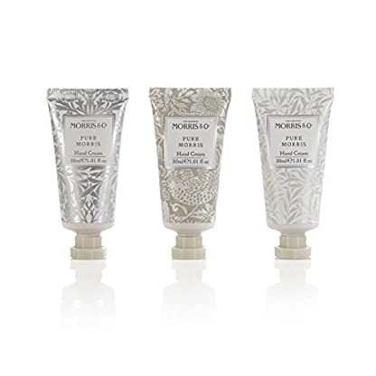 Colección Morris & Co Pure crema de manos, 30 ml, pack de 3