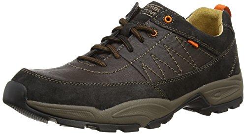 Camel Active - Evolution 27, Sneakers da uomo Grigio (charcoal/espresso)