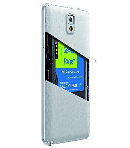 N3 Slim PWRcard per Samsung Galaxy Note III 3 N9005 N9500 con il supporto NFC