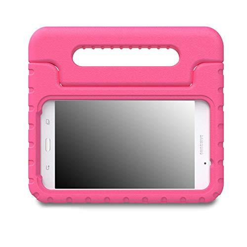 MoKo Schutzhülle Samsung Galaxy Tab A 7.0-Buyus Schutzhülle Eva Kinder stoßfest inkl. Halterung Convertible mit Tragegriff für Tablet Samsung Galaxy Tab A 7.0Zoll sm-t280/sm-t285Modell 2016, magenta