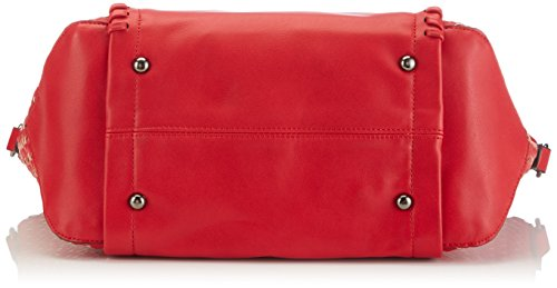 Saccess - DY15230, Borse a Tracolla Donna Rosso (Red)