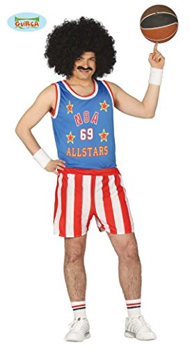 cooler Basketball Spieler Kostüm für Herren Gr. M/L, (Kostüm Basketball)
