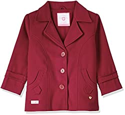 612 League Girls Coat (ILW00S630039E_Maroon_3-4YRS)