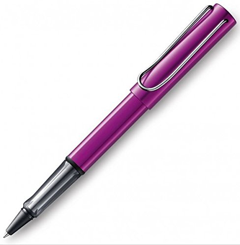 Lamy Roller/Tintenroller AL-star Vibro Pink–Limited Edition, 2018–Lieferung mit Mine Lamy M63blau/mittel–Made in Germany–Collection Alstar