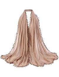 Cinnamou Mode Femmes Etoles Dames Écharpe En Coton Musulman Doux  Enveloppement Long Châle Foulards 126e8edf078
