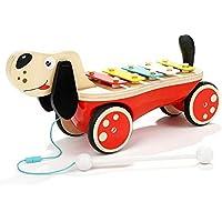 LXWM Enfants Battent des Jouets musicaux Chiot traînant Frapper sur Le  Piano Main bébé Frapper sur 0b85f61477ca