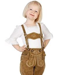 M.Stützle Kinder Trachten Blusenshirt - TROMPETENÄRMEL
