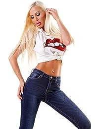 Suchergebnis auf für: fransen Jeanshosen Damen
