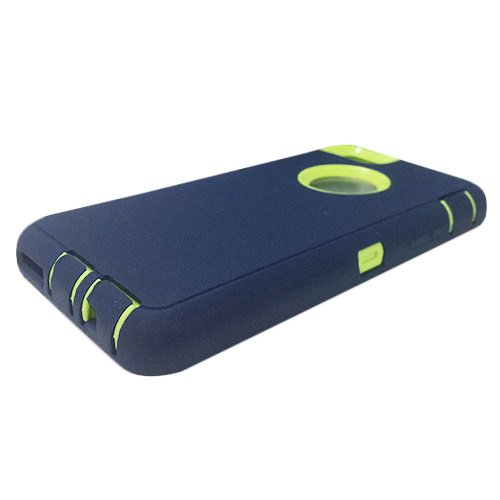 F8Q Colorful hybride étanche antichoc en caoutchouc Housse de protection Gel Case pour iPhone 6 gris