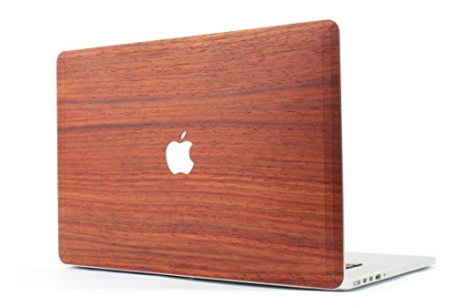 woodstache – Cover aus Holz MacBook Golden