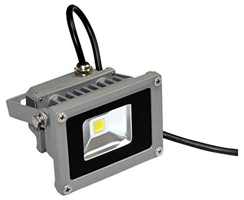 hler, 10 Watt LED Flutlicht Fluter Strahler im Freien, Ersetzt 100 Watt Glühlampen and Halogenlampen, Kaltweiss 220-240V, PREMIUMLED (100w Led Im Freien)