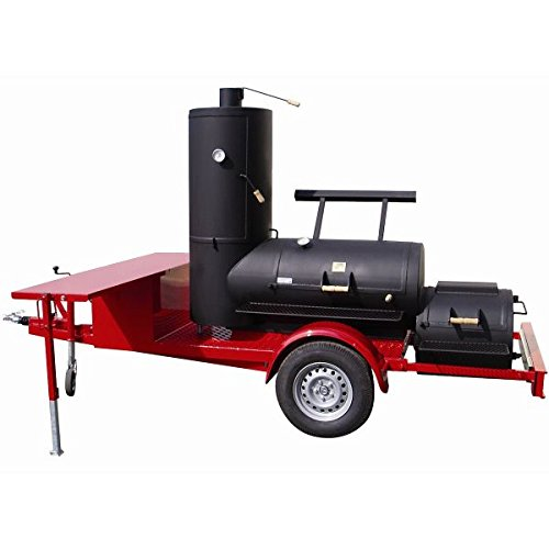 Joes Barbeque 24 Chuckwagon Catering Smoker Trailer