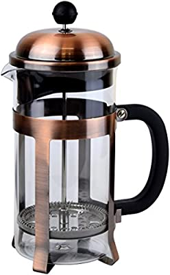 Coffee Press - Cafetiere Coffee Maker With Triple Filter System, 1.0 L, 34 oz - Copper from pcmam