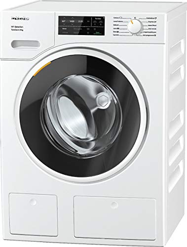 Miele WSG 663 XL TwinDos, Lavatrice Standard, A+++ -10%, 48 dB, 1400 rpm, Carico Frontale, 9 kg, Bianco