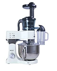 Berg J100 Pro Slow Juicer Review : BERG 1200 Watt 5L Electric Food Stand Mixer in Ivory/Cream, Aluminium Die Cast Housing, Double ...
