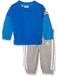 Adidas I Sp Crew Jogg -  Chándal para niños, color Azul / Blanco, 3-4 años